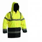 Zimní nepromokavá bunda SEFTON HV žlutá/navy