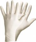 Pracovní rukavice latexové nepudrované PD - MINIMÁLNÍ ODBĚR 10.bal.