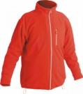 Fleece bunda KARELA červená