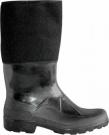 Vysoká gumová obuv zateplená filcem, GUMOFILC