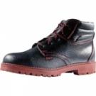 Kožená pracovní obuv WIBRAM na olejivzdorné podešvi
