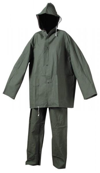 Nepromokavý oblek HYDRA khaki - PVC