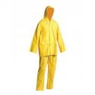 Nepromokavý oblek HYDRA žlutý - PVC