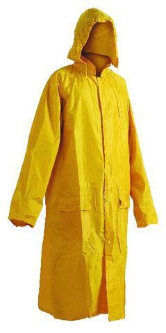 Nepromokavý plášť NEPTUN žlutý, s přelepenými švy