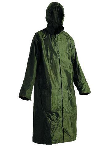 Nepromokavý plášť NEPTUN zelený, s přelepenými švy