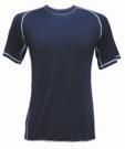 Funkční triko LION modré s krátkým rukávem