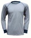 Funkční triko LION šedé s dlouhým rukávem