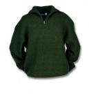 Pletený svetr Troyer - zelený