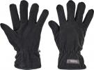 Pracovní rukavice Mynah černá, silný fleece