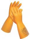 TATTLER dielektrické rukavice 7500 V, přírodní latex