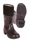 Vysoká gumová obuv zateplená filcem, GUMOFILC, zavalovaný