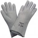 Teploodolné rukavice CRUSADER FLEX, do 200°C kontaktní teplo, délka 33 cm