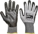 Pracovní rukavice RAZORBIL, nitril na dlani a prstech