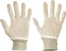 Pracovní rukavice Tit, šitý úplet