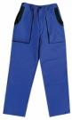 Montérkové kalhoty JOSEF LUXY modré, 100 % bavlna