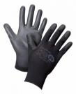 Nylonové rukavice AERO PU OPTIMAL BLACK 1967