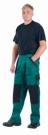 Montérkové kalhoty MAX zeleno  - černá, 100 % bavlna