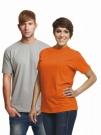 Bavlněné tričko TEESTA s krátkým rukávem, UNISEX - RŮZNÉ BARVY