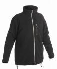 Fleecová bunda KARELA černá