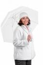 Fleecová bunda KARELA bílá