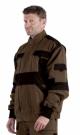 Montérková bunda 2 v 1 MAX hnědo -černá, 100 % bavlna