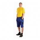 Montérkové šortky MAX modro-černé, 100 % bavlna