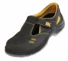 Bezpečnostní sandál S1 BLACK KNIGHT, na PU podešvi