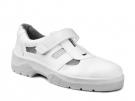 Bílý bezpečnostní sandál WINTOPERK WHITE OMEGA, na PU2D podešvi