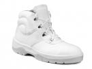 Bílá kotníková obuv WINTOPERK DELTA na PU podešvi