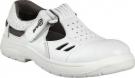 Bílý pracovní sandál PRABOS RICHARD , na PU/PU podešvi