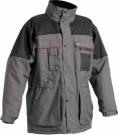 Zimní nepromokavá bunda ULTIMO šedo-černá, s kapucí