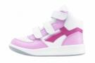 Dětská kotníková obuv PRESTIGE růžovo-bílá