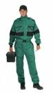 Kombinéza CXS LUXY ALASKA montérková, zeleno-černá, zimní,260g/ m2