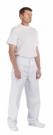 Bílé pánské kalhoty APUS, 100 % bavlna