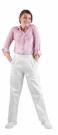 Bílé dámské kalhoty APUS, 100 % bavlna