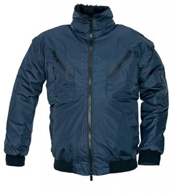 Zimní nepromokavá bunda PILOT modrá, s odnímatelnou vložkou
