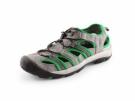 Obuv sandál SAHARA, šedo-zelený
