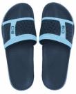 Obuv pantofle GULF bazénové černo bílé
