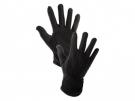 Rukavice MAWA, textilní, s PVC terčíky, černé - minimální odběr 12 párů