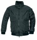 Zimní nepromokavá bunda PILOT černá, s odnímatelnou vložkou