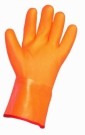 Pracovní rukavice Flamingo, máčené v PVC