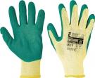 Pracovní rukavice Dipper, latex na dlani a prstech