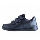 obuv PRESTIGE na suchý zip černá