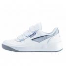 obuv PRESTIGE na suchý zip bílá