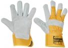 Pracovní rukavice Eider, hovězí štípenka, vel. 10