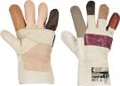 Zimní pracovní rukavice Firefinch, lícová nábytková hovězina