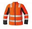 SOFTSHELLOVÁ bunda Malton - oranžová