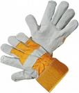 Kombinované rukavice EIDER ECO, hovězí štípenka
