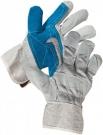 Kombinované rukavice MAGPIE ECO, hovězí štípenka