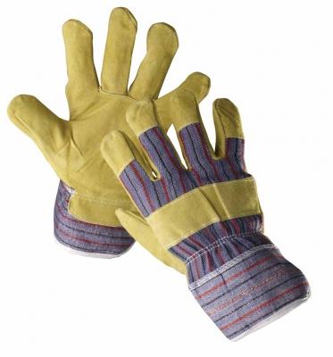 Pracovní rukavice Serin, vepřová štípenka